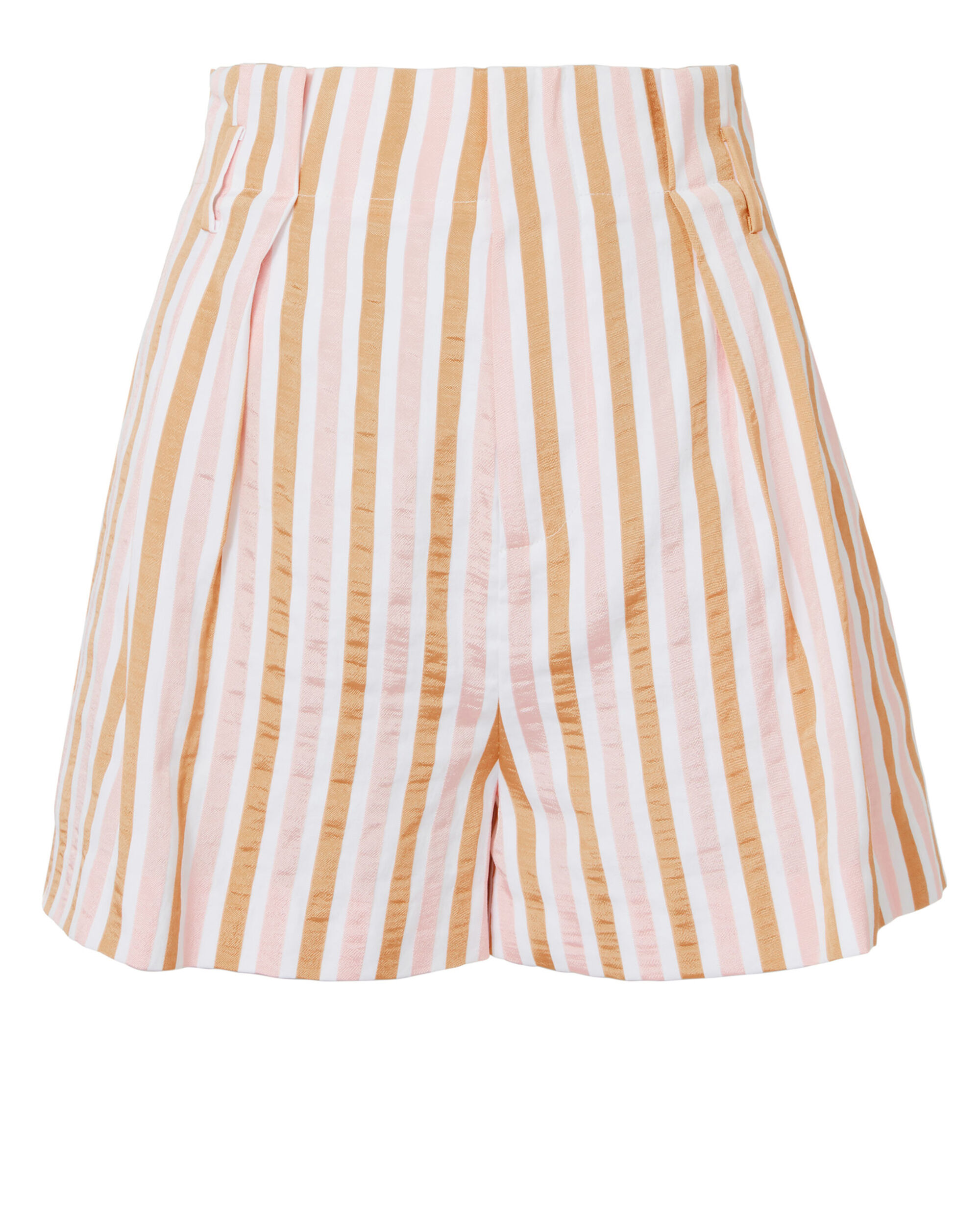 Pink Striped Shorts, MULTI, hi-res