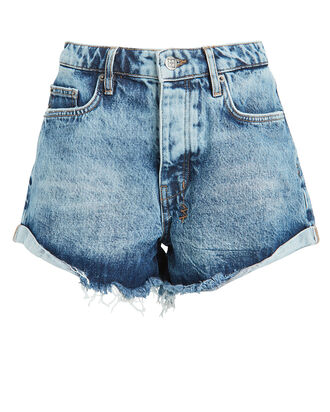 Rollin Out Denim Shorts, DENIM-LT, hi-res