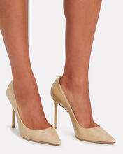 Romy 100 Patent Leather Pumps, BEIGE, hi-res