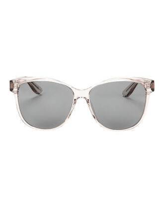 Clear Acetate Sunglasses, CLEAR, hi-res