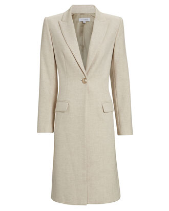 Kris Tailored Coat, BEIGE, hi-res