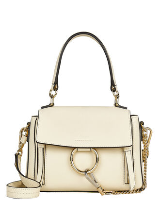 Small Faye Double Carry Bag, WHITE, hi-res