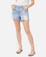 Le Ultra Baggy Denim Shorts, DENIM-LT, hi-res