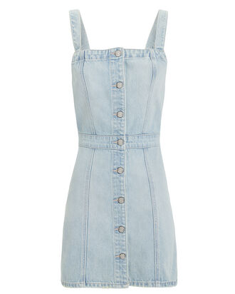 Kennedy Denim Mini Dress, LIGHT DENIM, hi-res