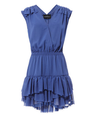 Isabel Mini Dress, BLUE-DRK, hi-res