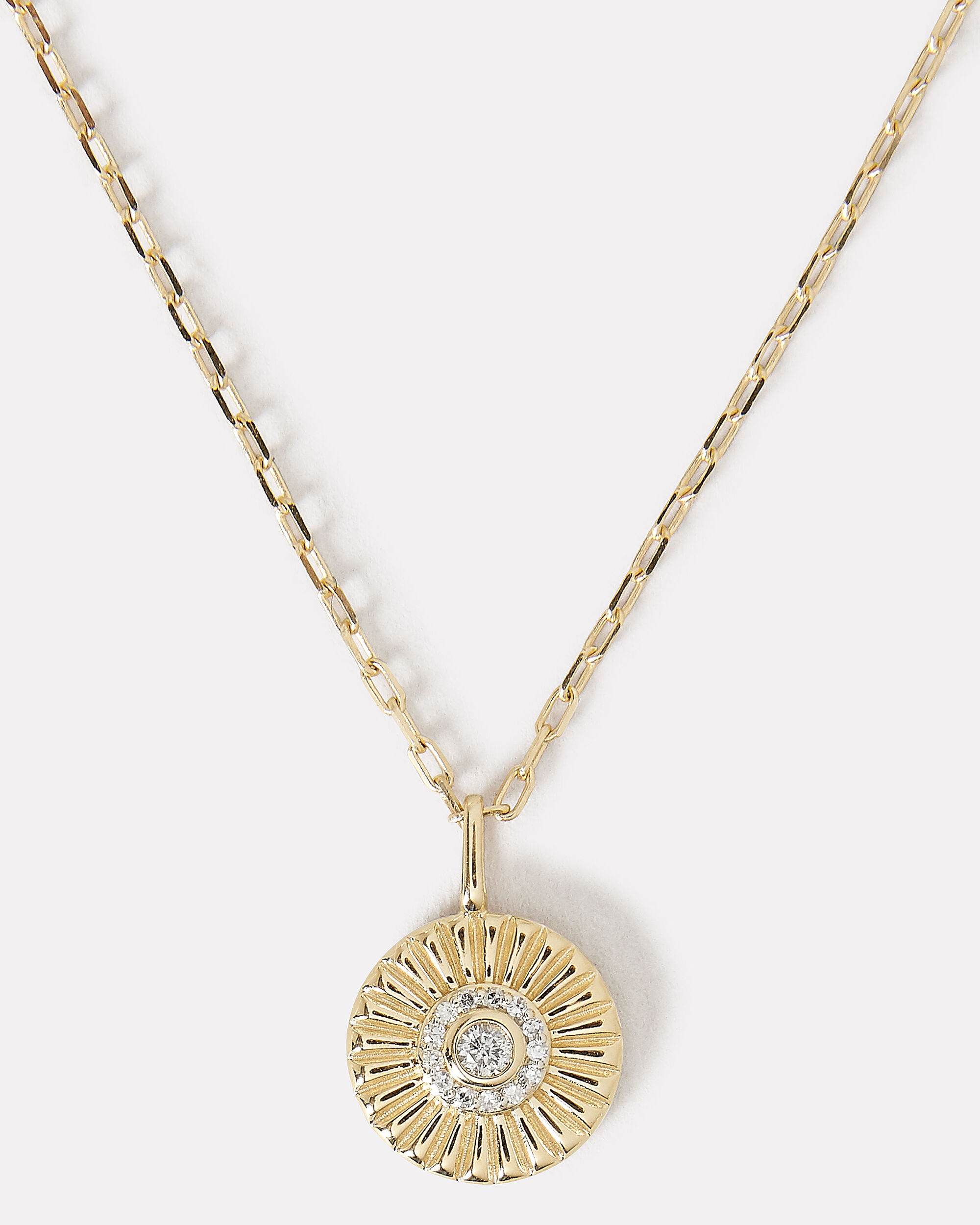 Diamond Small Rays Pendant, GOLD, hi-res