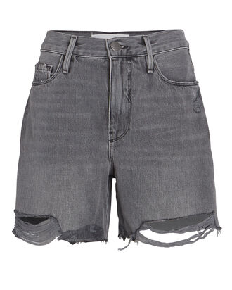 Le Tour Cut-Off Denim Shorts, , hi-res
