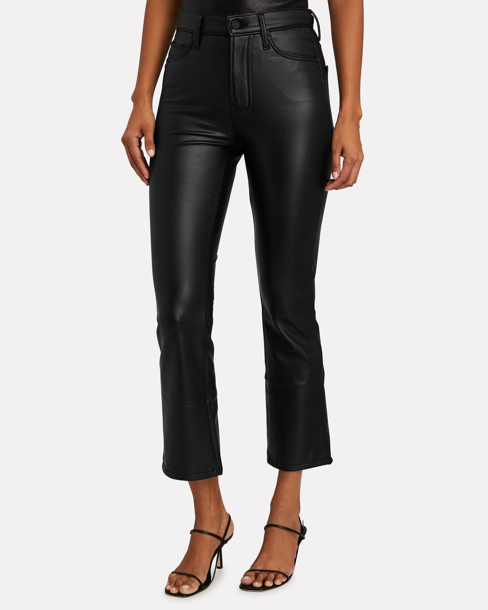 The Insider Ankle Faux Leather Jeans, FAUX SHOW, hi-res