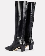 Ophelia Leather Knee-High Boots, BLACK, hi-res