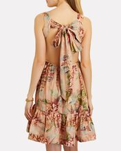 Candescent Sleeveless Floral Mini Dress, BLUSH, hi-res