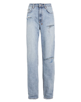 Playback Straight Leg Jeans, LIGHT WASH DENIM, hi-res