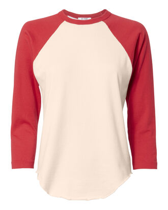 Cardinal Red Baseball Tee, COLORBLOCK, hi-res