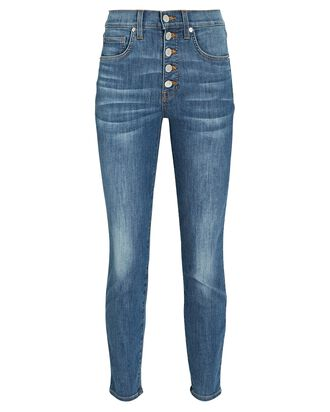 Debbie High-Rise Skinny Jeans, DENIM, hi-res