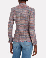 Theron Double-Breasted Tweed Blazer, MULTI, hi-res