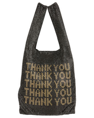 Wangloc Mini Shopper, BLACK/GOLD, hi-res