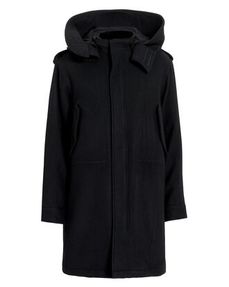 Leopard Lined Parka, BLACK, hi-res