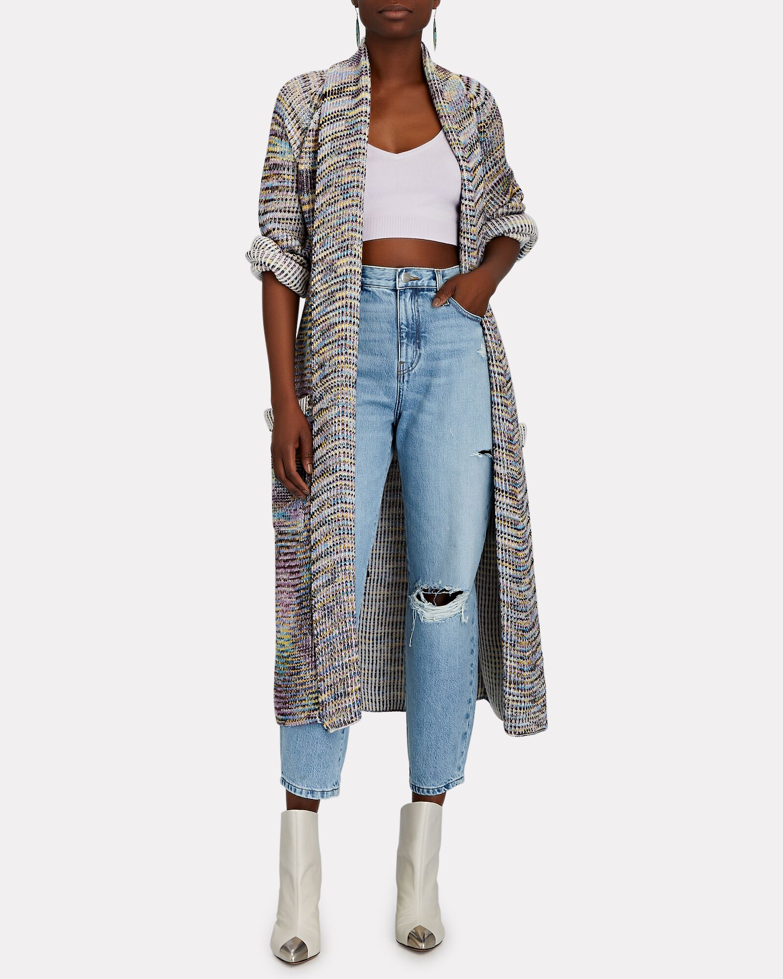 Distressed Cropped Barrel-Leg Jeans, NAPPA RIPS, hi-res
