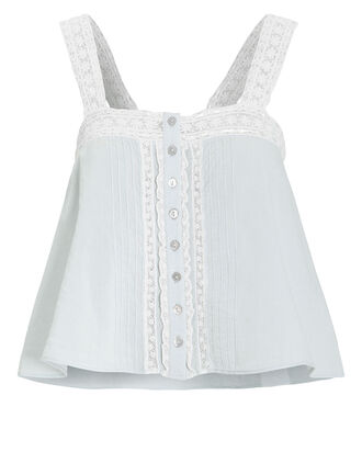 Daisy Tank Top, BLUE-LT, hi-res