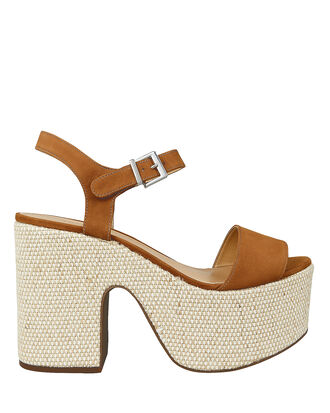 Glorya Platform Sandals, BROWN/BEIGE, hi-res