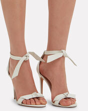 Clarita 100 Leather Sandal, WHITE, hi-res