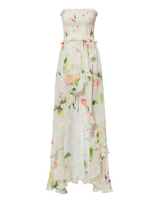 Floral-Printed Maxi Dress, MULTI, hi-res
