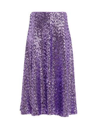 Henny Sequined Midi Skirt, ASTER PURPLE, hi-res