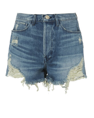 Elmar Cutoff Shorts, DENIM, hi-res