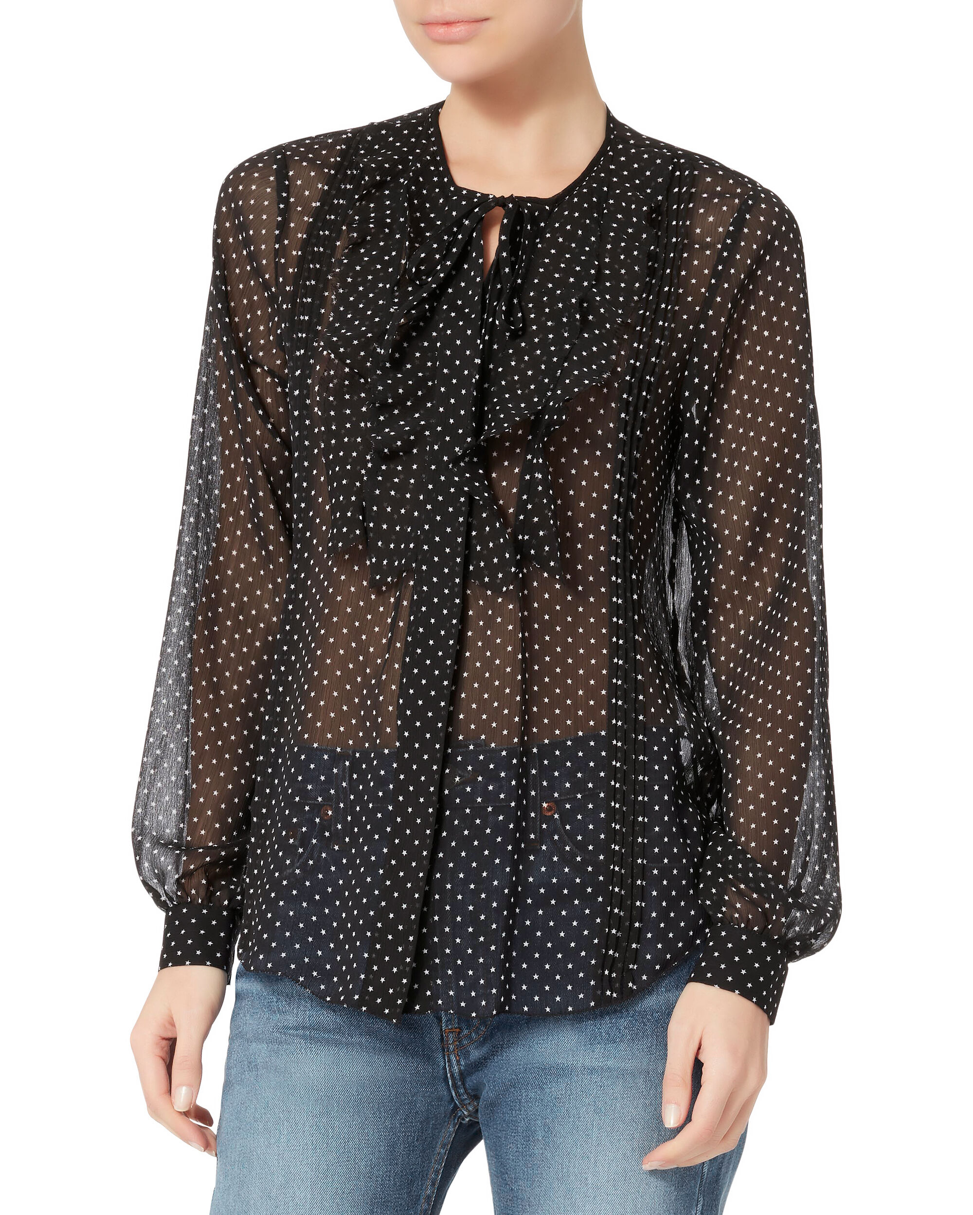Tabitha Star Blouse, PRI-DOT, hi-res