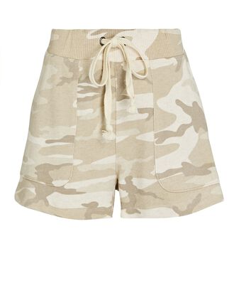 Robin Camouflage Terry Shorts, BEIGE, hi-res