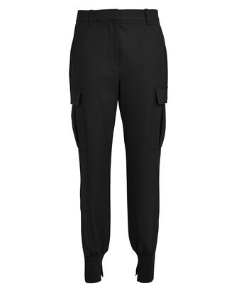 Cargo Pocket Jogger Pants, BLACK, hi-res