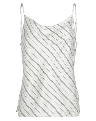 Kay Striped Silk Camisole, MULTI, hi-res