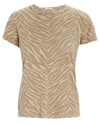 The Lil Sinful Striped T-Shirt, BEIGE, hi-res