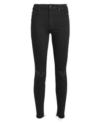 The Looker High-Rise Skinny Jeans, BLACK DENIM, hi-res