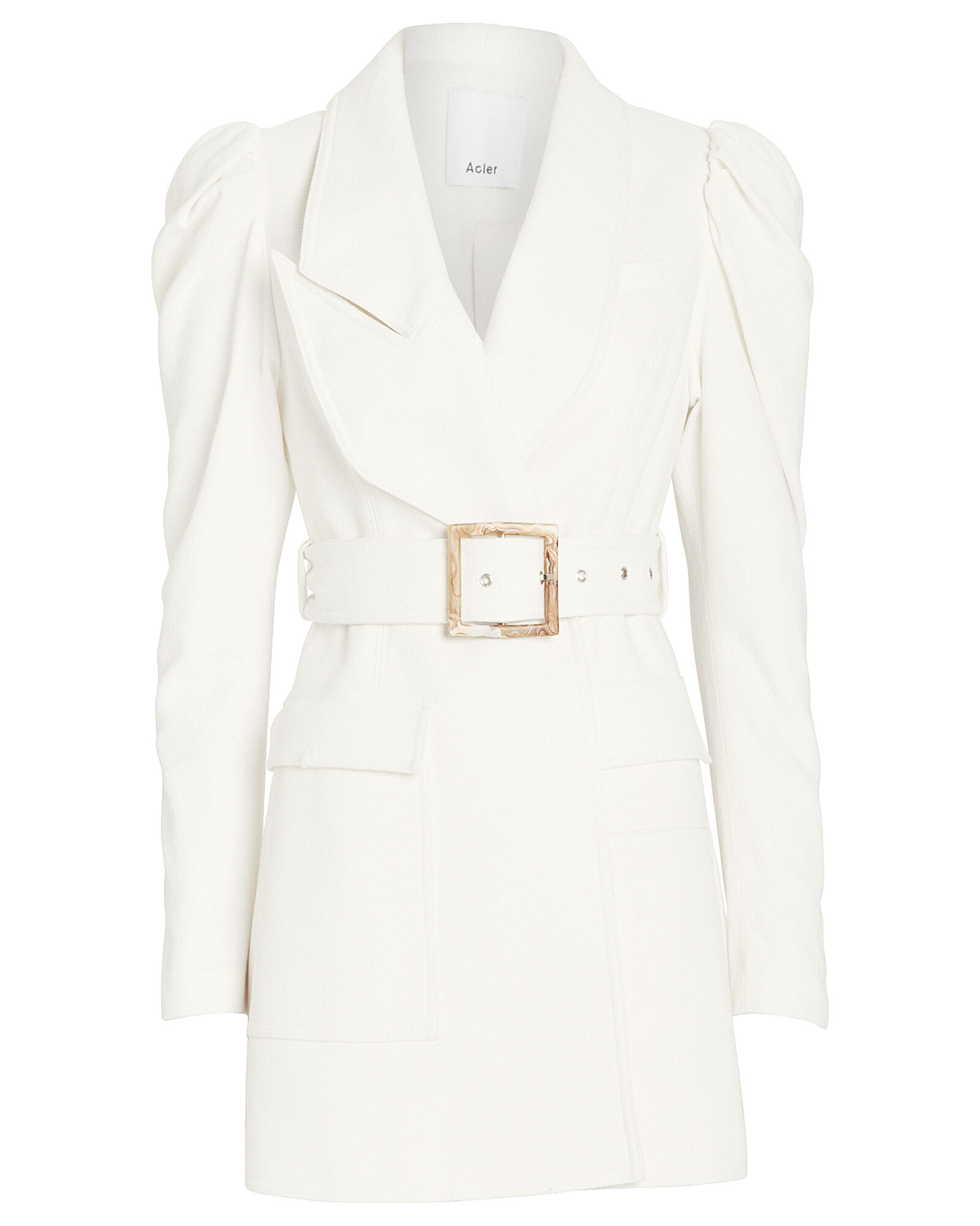 Alameda Blazer Dress, IVORY, hi-res