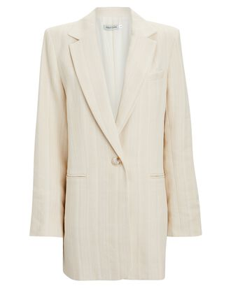 Gianna Relaxed Blazer, IVORY, hi-res