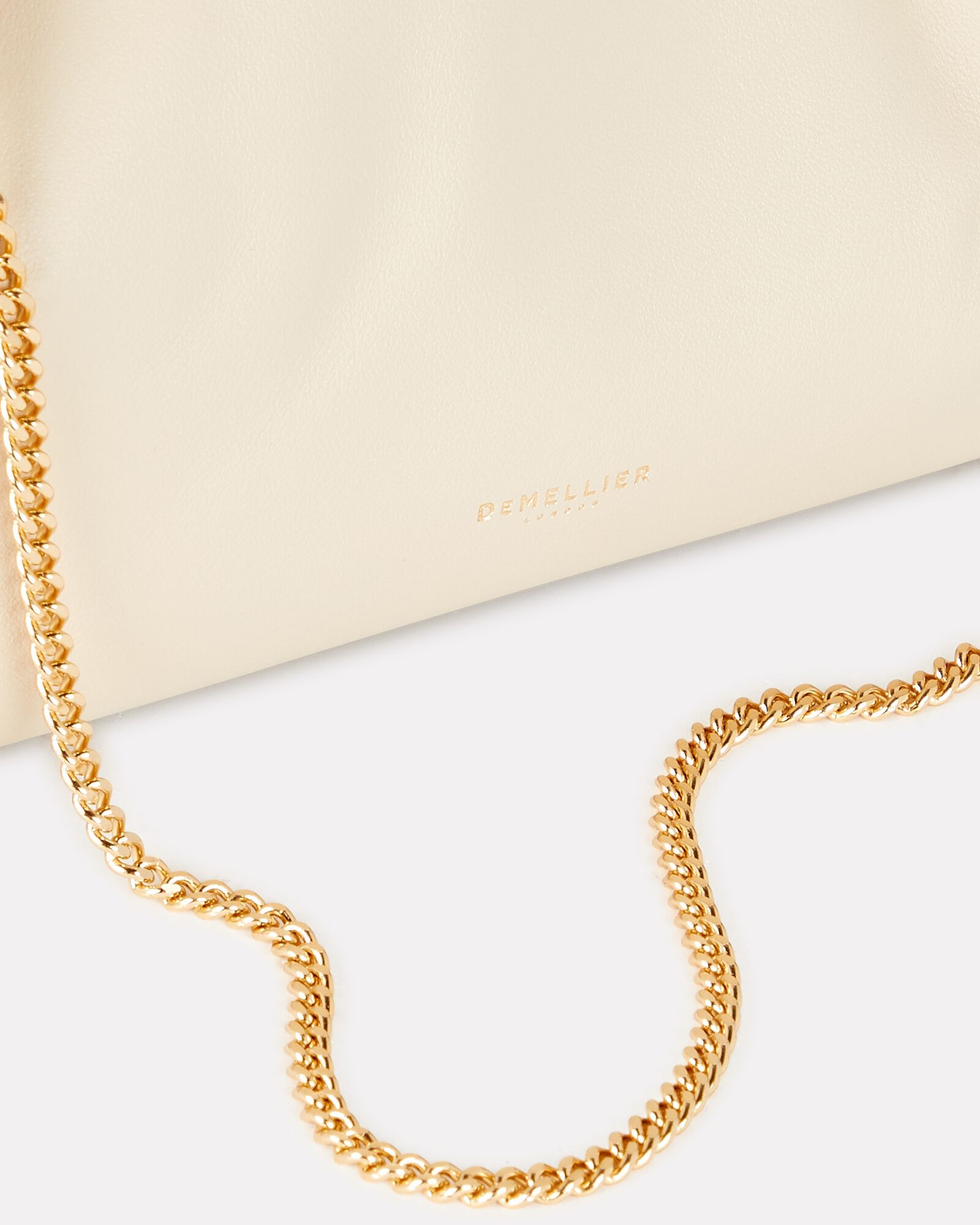 Florence Soft Leather Pouch, IVORY, hi-res