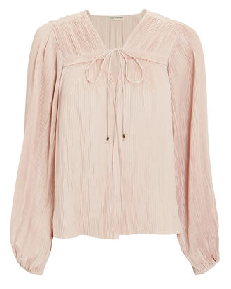 Tania Blouse, BLUSH, hi-res