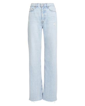 Carla Wide Leg Jeans, LIGHT WASH DENIM, hi-res