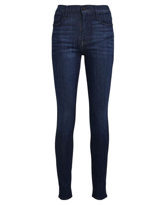 Le High Skinny Jeans, FADED BLUE DENIM, hi-res