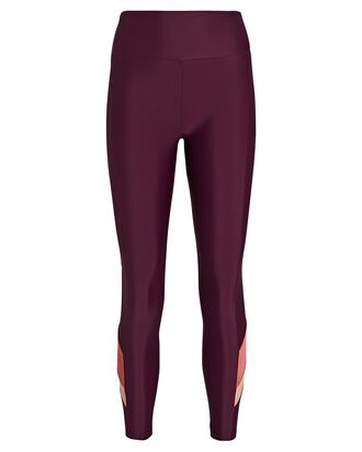 Ryder High-Rise Leggings, BURGUNDY, hi-res