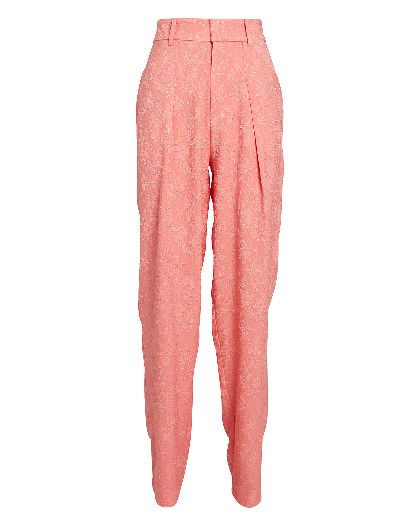 Carrie Jacquard Trousers, PINK, hi-res