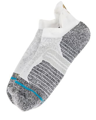 Run Tab St Socks, WHITE, hi-res