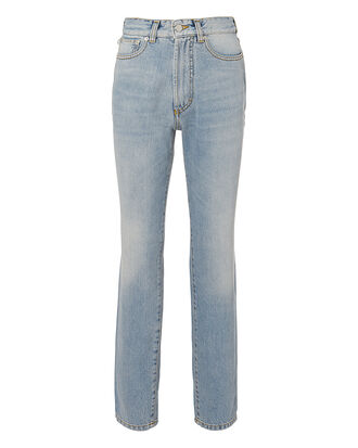 Tara Classic Tapered Jeans, DENIM-LT, hi-res