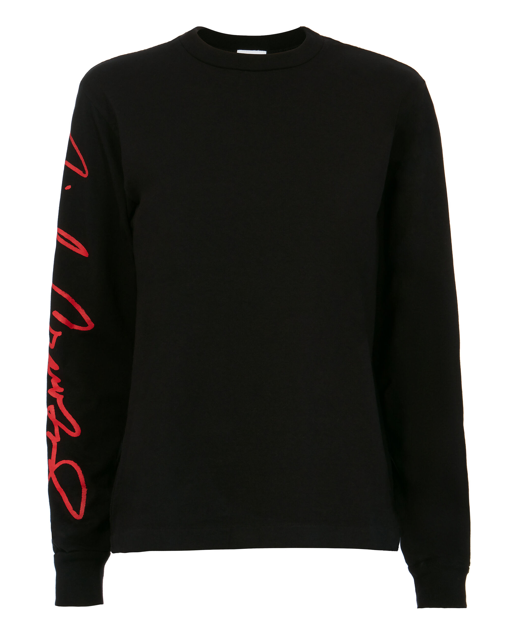 Cindy Crawford Signature Long-Sleeved T-Shirt, BLACK, hi-res