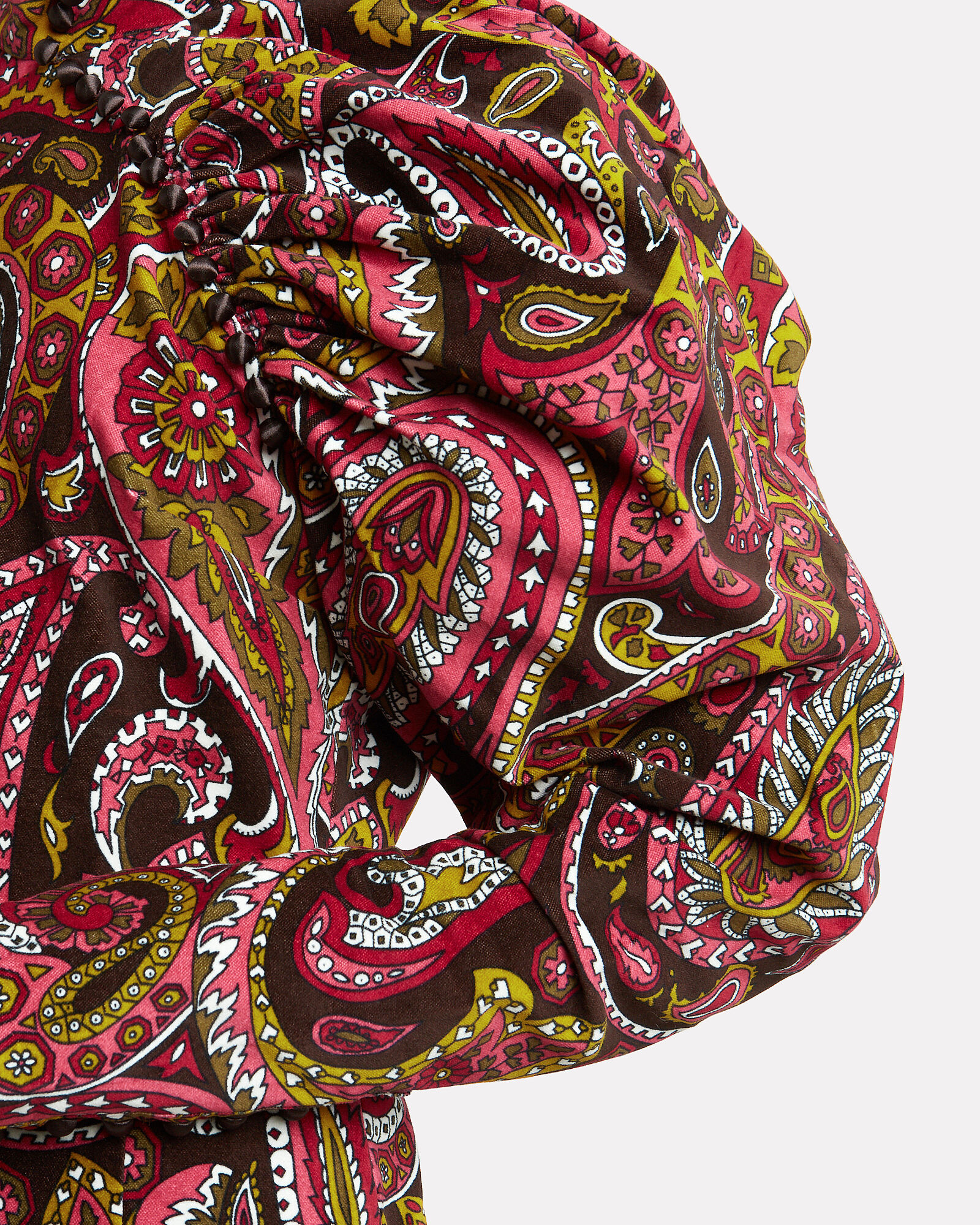 No. 1 Paisley Mini Dress, MULTI, hi-res