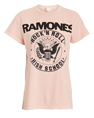 Ramones Graphic Cotton T-Shirt, PINK, hi-res
