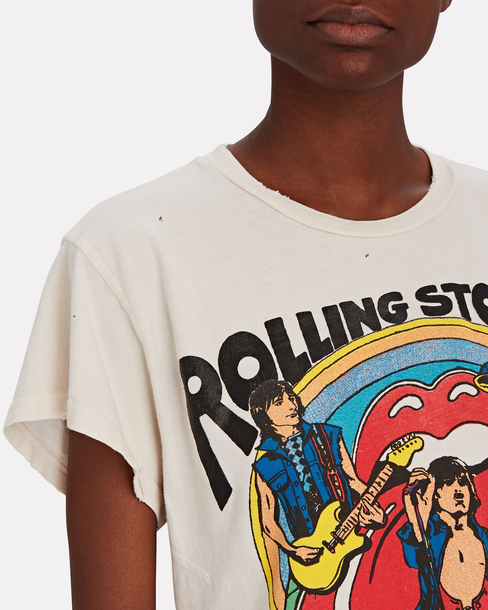 Rolling Stones Graphic T-Shirt, WHITE, hi-res