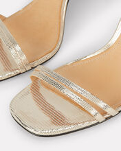 Altina Snakeskin Sandals, GOLD, hi-res