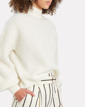Mallory Alpaca-Wool Sweater, IVORY, hi-res