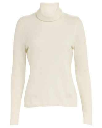 Tamara Cashmere Turtleneck Sweater, IVORY, hi-res